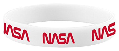 White One Size Mister Tee NASA Bracelet Casquette Unisex-Adult
