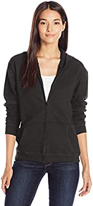 Hanes Womens ComfortSoft EcoSmart Women's Full-Zip Hoodie Sweatshirt Warm Up or Track Ja