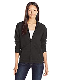 Hanes Womens ComfortSoft EcoSmart Women's Full-Zip Hoodie Sweatshirt Warm Up or Track Jacket
