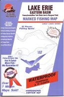Lake Erie Eastern Basin Fishing Map: PA/NY Line to Sturgeon Point (Great Lakes Fishing Map Series, M484)