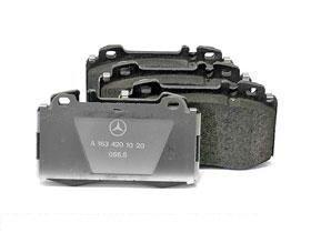 Mercedes w163 ML 430 500 Brake Pad Set Front GENUINE oem factory parts