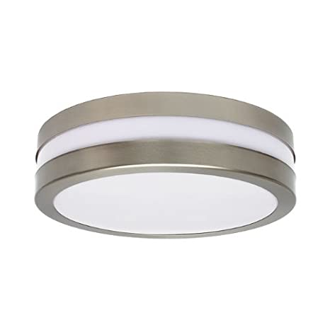 Bathroom / room lighting E27 wall light bathroom ceiling light round light 230 V matt chrome Grande Bulb Not Included PanderLights