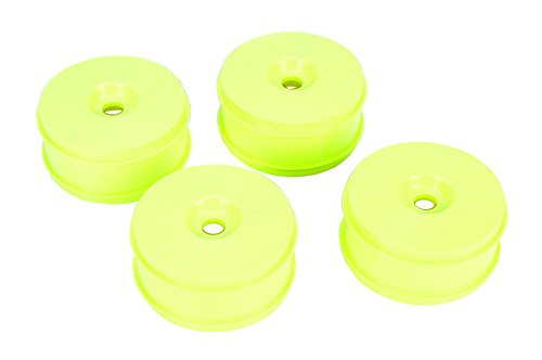 (Team Losi 1/8 Buggy Dish Wheel Yellow (4): 8IGHT Buggy 3.0)