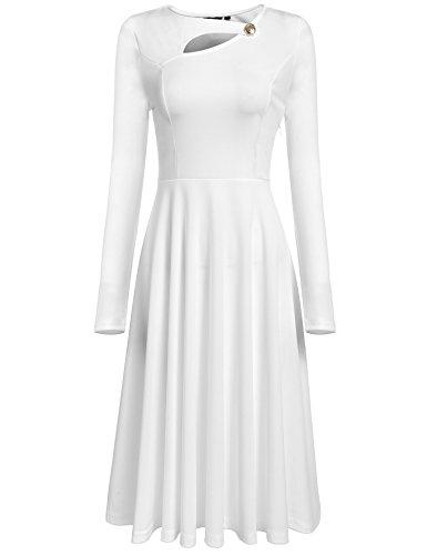ANGVNS Vintage Sleeve Elegant Formal