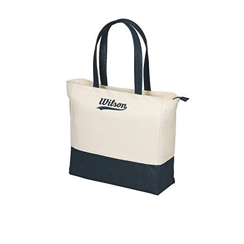 Wilson Women's Heritage Tote Bag - Beige/Blue/Cream/Navy by Wilson