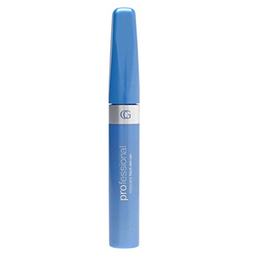 Cover Girl Brown Waterproof Mascara (COVERGIRL Professional All-in-One Curved Brush Mascara, Black Brown 0.3 fl oz (9 ml) (Packaging may vary))