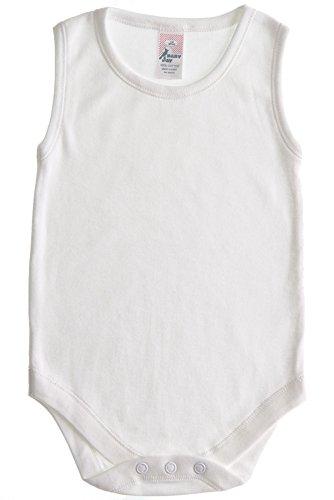 2T 3T Cotton Sleeveless Bodysuit