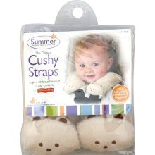 Summer Infant, Travel Pals, Cushy Straps (Pack of 2) by BornFree