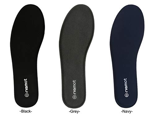 Amazon.com: Riemot Mens Memory Foam Insoles Super Soft Replacement Inserts for Running Shoes Work Boots Comfort Cushioning Black 12: Health & Personal Care