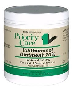 (Drawing Salve Grooming Aid Ichthammol Ointment, 14 oz)