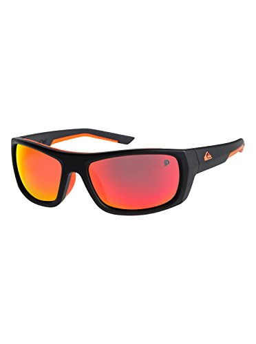 (Quiksilver Mens Knockout Polarised Floatable - Sunglasses For Men Sunglasses Multicolor One)