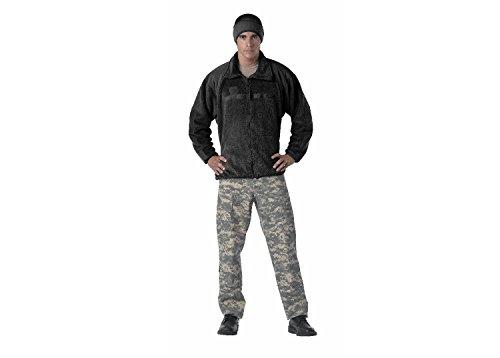 Army Black Fleece Jacket - 2