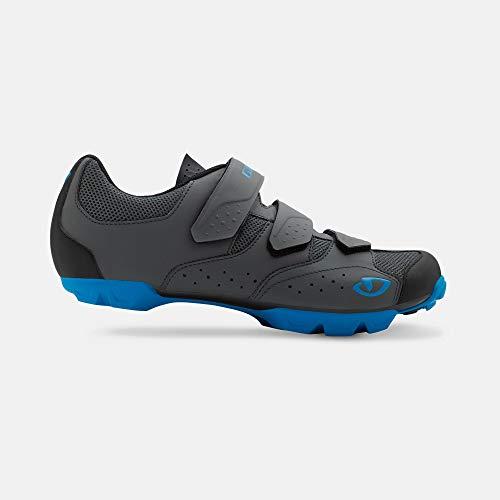 Giro Carbide R II Mens Mountain Cycling Shoe - 45, Dark Shadow/Blue (2020)