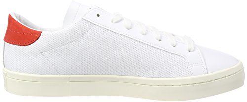 Courtvantage White 0 Footwear Originals adidas White Homme Baskets Footwear Blanc Red fP8qZc