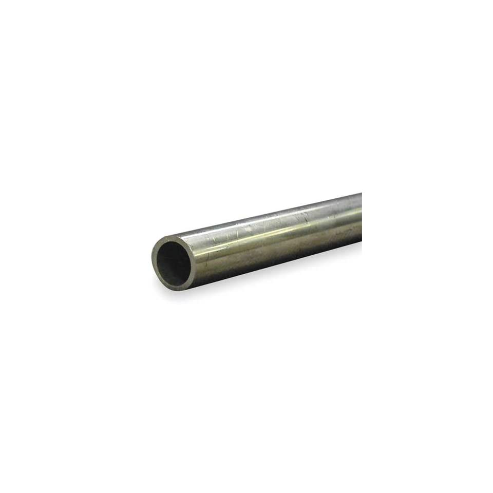 304 and 316 Stainless Steel Tubing, Welded Tubing,Welded,1 1/4 In,6 ft