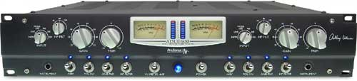 PreSonus ADL600 2-Channel High-Voltage Vacuum Tube Mic Preamp Two Channel Microphone Preamp