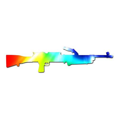 M249 Saw Machine Gun - Vinyl Decal Sticker - 9