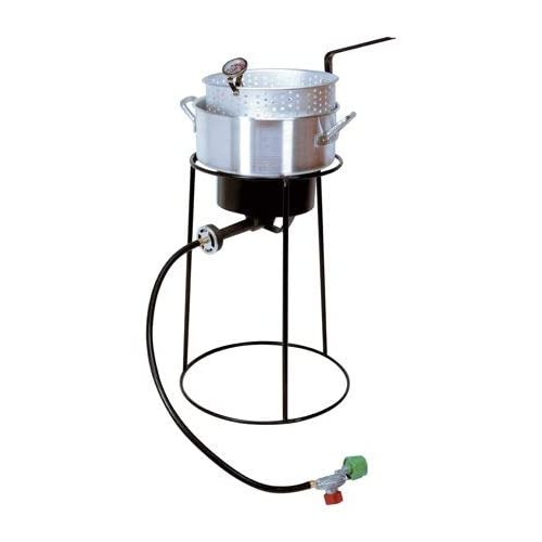 "Cheap King Kooker 22"" Portable Propane Outdoor Cooker Package free shipping"