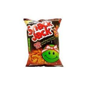Snack Jack Green Pea Snack Chicken Habanero Flavour-70g - Habanero Jack