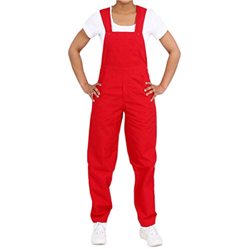 Medgear Unisex Overalls All Around Use (XL, Red)