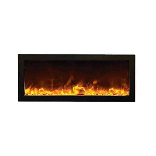 Cheap Amantii BI-40-SLIM-OD Outdoor Panorama Series Slim Electric Fireplace 40-Inch Black Friday & Cyber Monday 2019