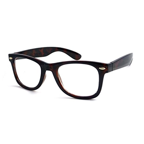RETRO Thick Horn Rimmed Trendy Frame Clear Lens Eye Glasses - Hipster Glasses Thick Rimmed