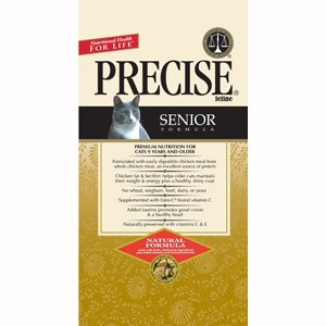 Precise 726119 5-Pack Feline Senior Food for Pets, 6-Pound