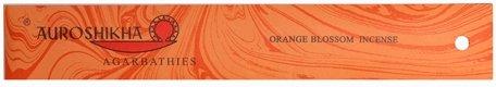 Quality Incense (Orange Blossom Auroshikha Incense Sticks - High Quality)