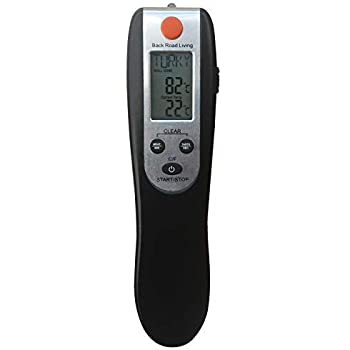 Digital Meat Thermometer For Cooking To A Perfect Temperature - Barbecues, Grilling, Baking, Frying and Broiling - Be Sure Your Steaks or Chicken Are Safe To Eat and Cooked To Your Preference