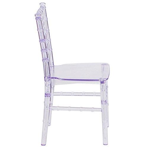 24.75'' Kids Crystal Transparent Chiavari Chair (1 Chair)