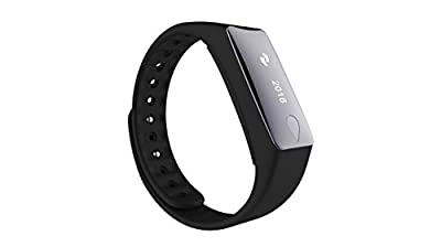 South Star Digital HRM B2 Smart Bracelet Blood pressure Bluetooth 4.0 Touch Screen Fitness Tracker Health Sport Monitor for iPhone & Android phones(BLACK)
