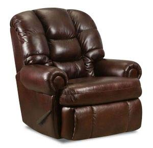 (Lane Stallion Big Man Comfort King (Large) (Vinyl) Made for The Big Guy Or Gal. Rated for Up to 500 Lbs. Extended Length. 79 Inches. Seat Width. 25 Inches. 1407)
