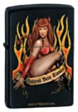 Zippo ''Natural Born Sinner'' Black Matte Lighter