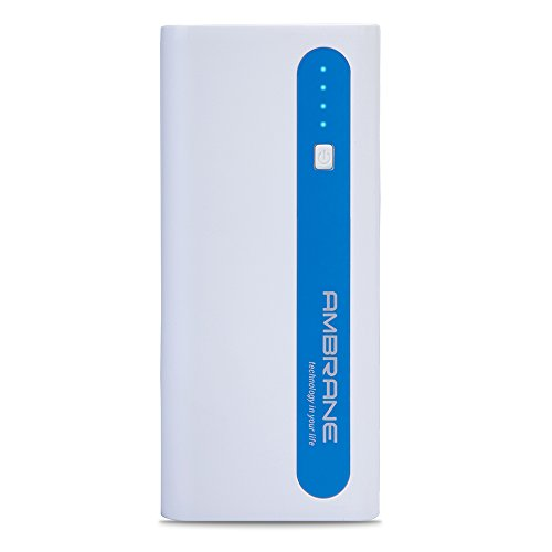 Ambrane 13000 mAh Power Bank P 1310  White Blue