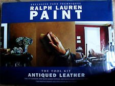 (Ralph Lauren Antiqued Leather Paint Tool Kit)