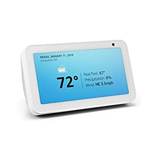 Introducing Echo Show 5 - Compact smart display with Alexa - Sandstone (B07HZJ64WD) | Amazon Products