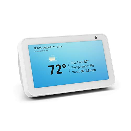 Introducing Echo Show 5 – Compact smart display with Alexa - Sandstone