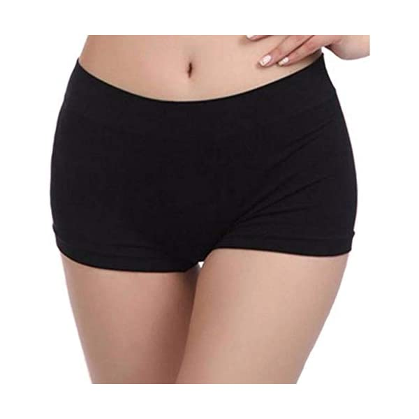 Firstwish Women's Synthetic Boy Shorts 1 31YXhFFEEdL