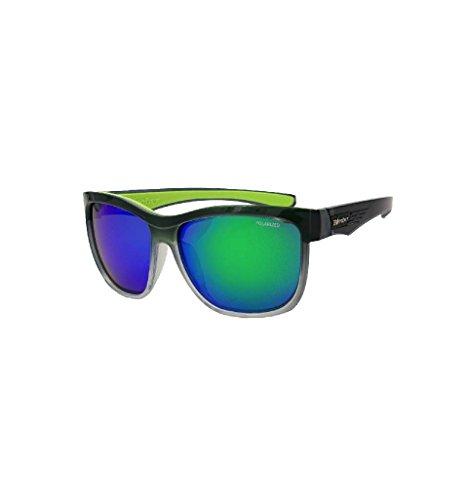 Homme Lunettes De Bomber Noir Soleil argent Eyewear qan5Ix57