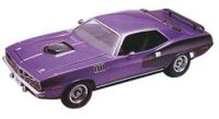 Plastic Model Kit-'71 Plymouth Hemi 'Cuda Hardtop 1:25