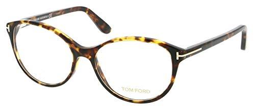 Tom Ford Women Eyeglasses Cat Eye FT5403-052 Havana Frame/Demo ()