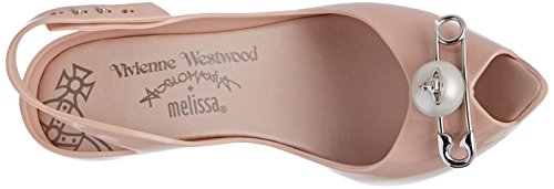 19 Westwood Femme Lady Melissa amp; Pink Dragon Vivienne VW Pink Bout Blush Ouvert YpRqYw