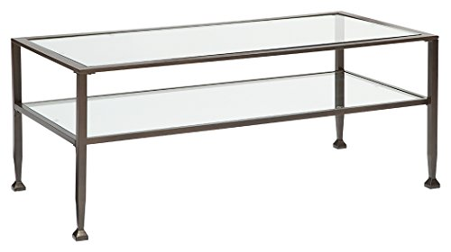 Rectangular Display Cocktail Table - 1