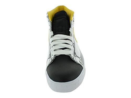 Nike Mens Blazer Alta Pallacanestro Scarpa Bianca / Bianca / Nera / Mais Vrsty