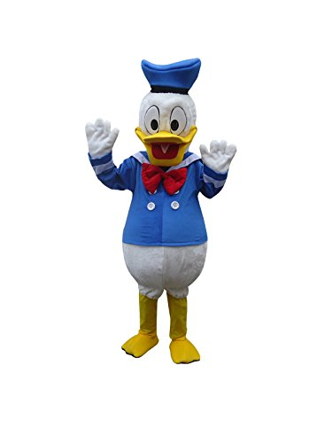 Donald Duck Adult Mascot Costume Cosplay Fancy Dress -