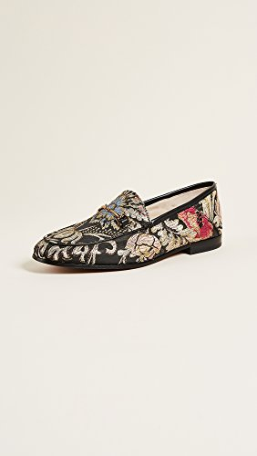 Loraine Loafer Edelman Jacquard Sam Multi Women's Black q7gxvU