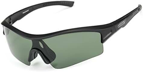 ODODOS Polarized Sports Sunglasses for Driving Cycling Baseball Running Fishing