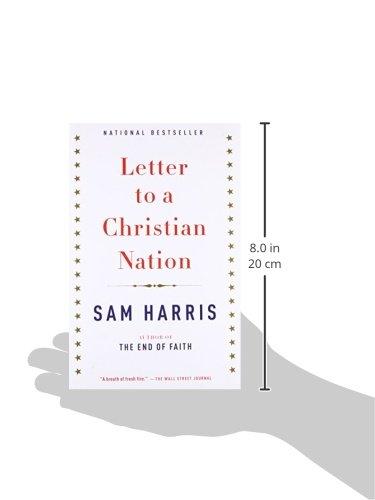 Letter To A Christian Nation Sam Harris 9780307278777 Amazon Com