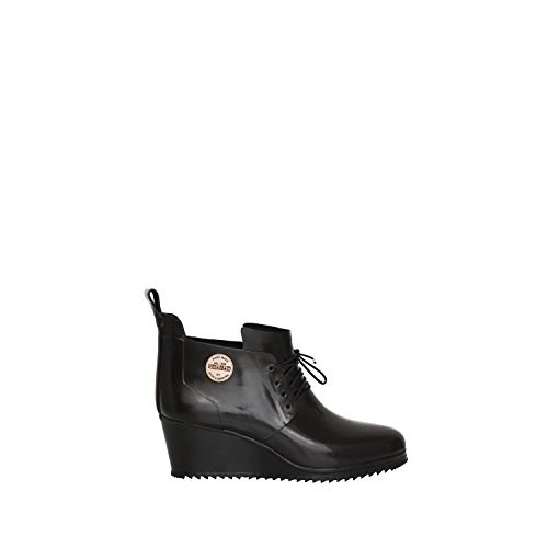 Up LUS123 Black Rubber shoes Lace Footwear Julia Lundsten Shoe Originals by Nokian WnUPa0w
