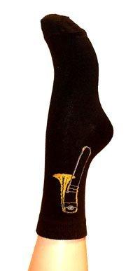 Musik-Socken Posaune (46/48) - Schönes Geschenk für Musiker